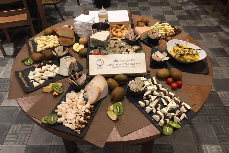 Mesa de quesos, selección Aitor Luis Vega