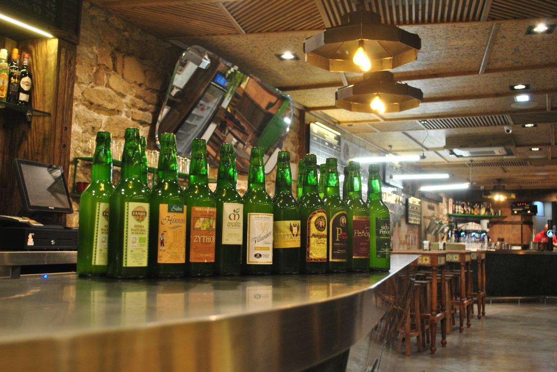 El Ferroviario chigre espicheru Oviedo mejor sidrería Gascona 17